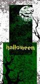 Карта Хэллоуина. — Cтоковый вектор