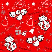 Fondo transparente de Navidad. — Vector de stock