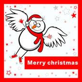 メリー クリスマス カード. — ストックベクタ