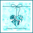 Valentines day card — Stock Vector #18332767