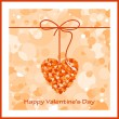 Valentines day card — Stock Vector #18332857