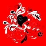 Valentines heart. — Stock Vector