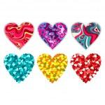 Valentine heart. — Stock Vector #19442717