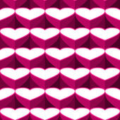 Hearts background from heart — Stock Vector