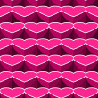 Valentine seamless background.  — Stock Vector