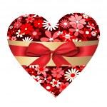 Valentine heart. — Stock Vector #19658347