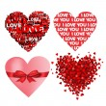 Valentine heart. — Stock Vector #19658349
