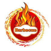 Barbecue. — Stock Vector