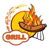 Grill — Vetorial Stock