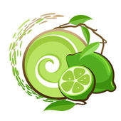 Lime. — Stock Vector