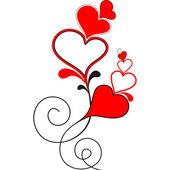 Valentine heart. — Stock Vector