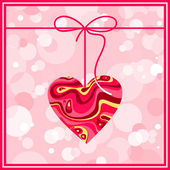 Valentine card. — Stock Vector