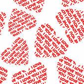 Fond de la saint-valentin — Vecteur