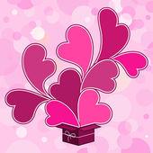 Valentine's day hearts — Stock Vector