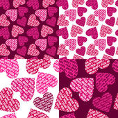 Valentines background — Vector de stock