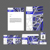 Corporate identity template — Stock Vector