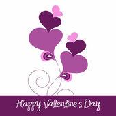 Valentines day heart. — ストックベクタ