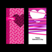 Valentines day card. — Stock vektor