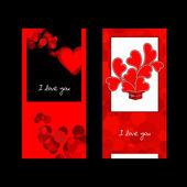 Valentines day card. — Stockvektor