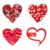 καρδιές του αγίου βαλεντίνου — Διανυσματικό Αρχείο