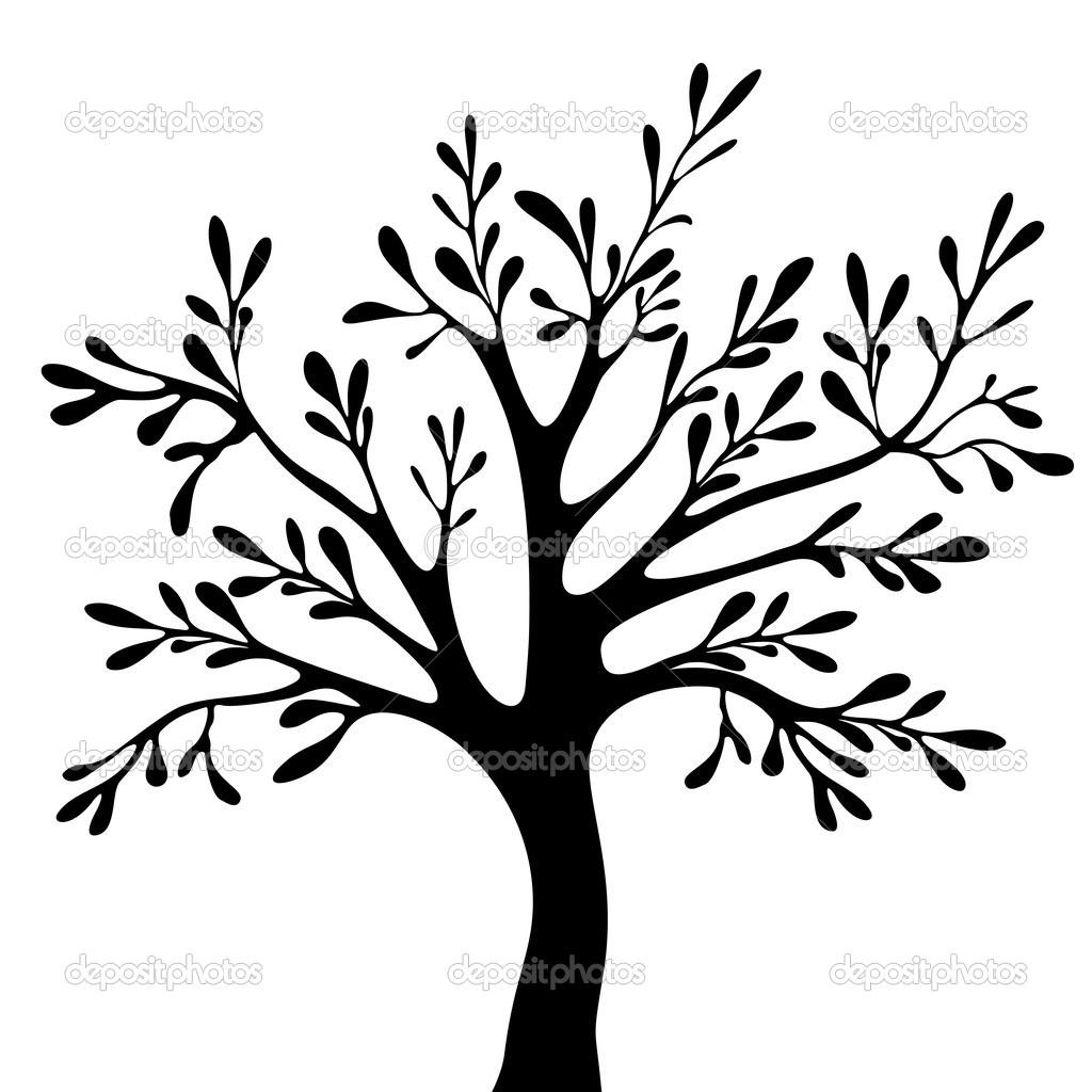 树剪影 — 矢量图片作者