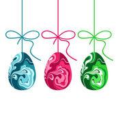 Easter eggs design set — Stock Vector