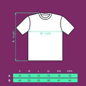 T-shirt men. — Stock Vector