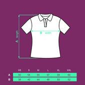 T-shirt woman. — Stock Vector