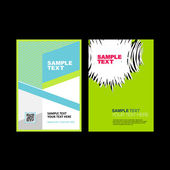 Corporate business brochure design. — Stock Vector
