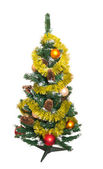Beautiful Christmas tree on a white background — Stock Photo