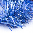 Royalty-Free Stock Photo: Blue Christmas tinsel