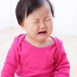 Crying baby girl — Stock Photo