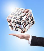 Human Resources concept — Foto Stock