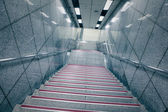Staircase in underground passage — Stock Photo