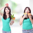 You need  fruit and vegetables — 图库照片