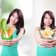 You need  fruit and vegetables — Stock Photo
