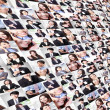 Great collage made by Business group — Stock Photo