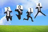2014 new year business concept — Stock Photo