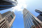 Moderní obchodní budova — Stock fotografie