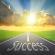 Way to Success — Stock Photo #35012623