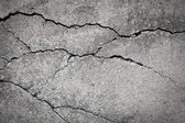 Grunge concrete cement wall with crack — Stock Photo