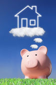 Dreaming a home — Stock Photo