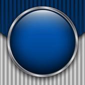 Blue Cardboard Backdrop — Stock Vector
