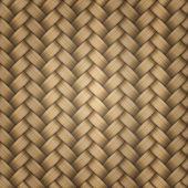 Tiling wicker texture — Stock Vector