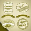 Olive oil vintage labels — Stock Vector #27419695