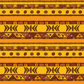 African ethnic seamless background — ストックベクタ