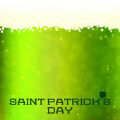St Patrick's Day card — Stock Vector