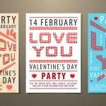 Set of Valentine — Stock Vector #8896213