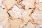 Star Christmas cookies — Stock Photo