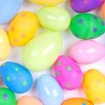 plastik Paskalya yumurtaları — Stok fotoğraf
